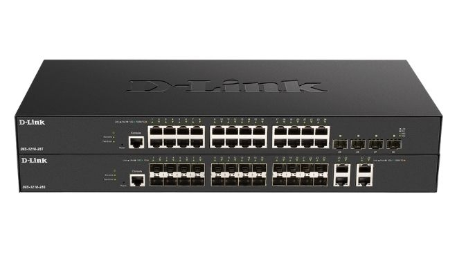 D-Link lança novos Switches Smart Managed DXS-1210